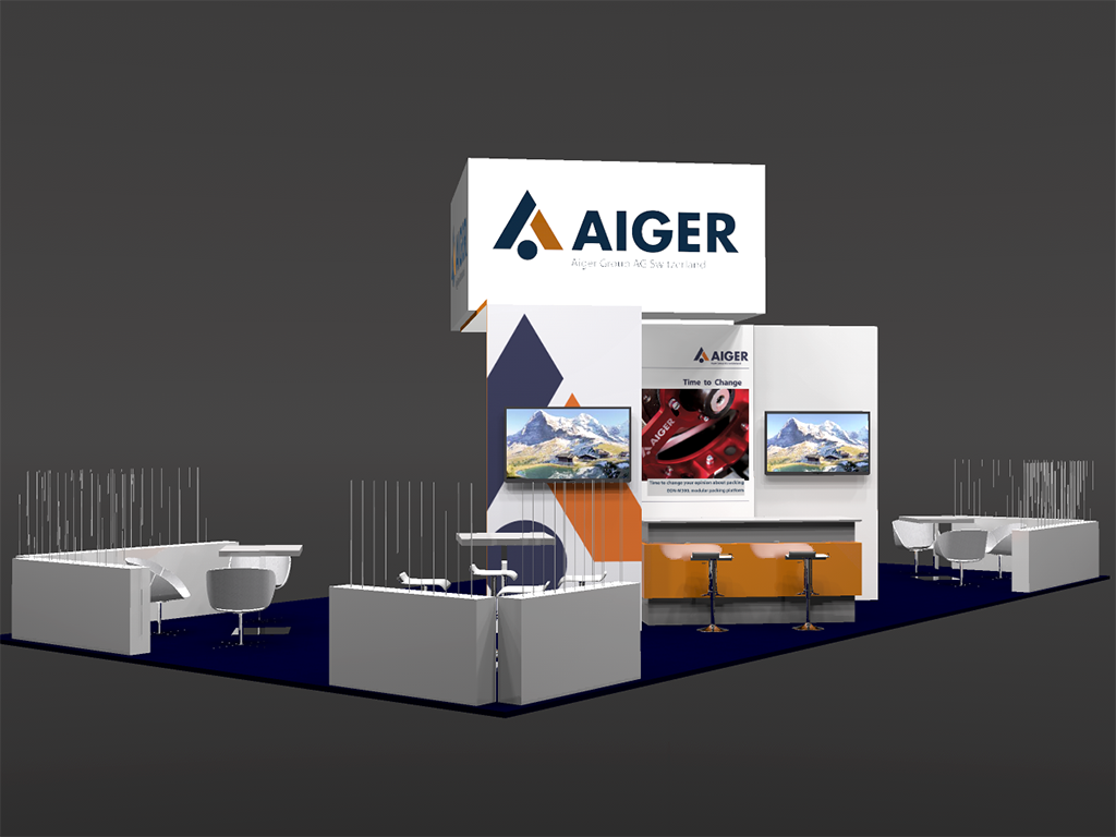 Aiger stand 3D