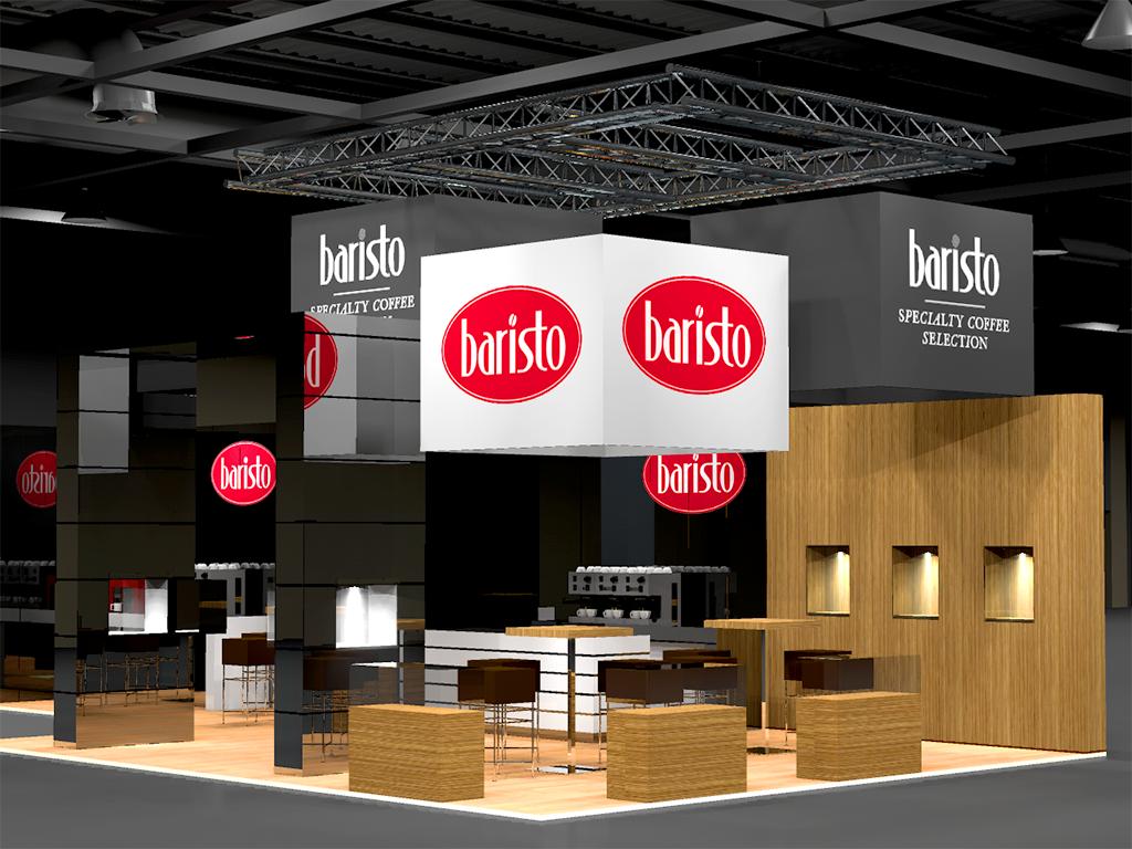 Baristo Milano stand 3D