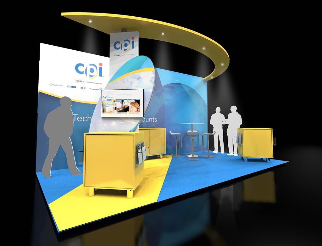 3D визия на щанда на CPI