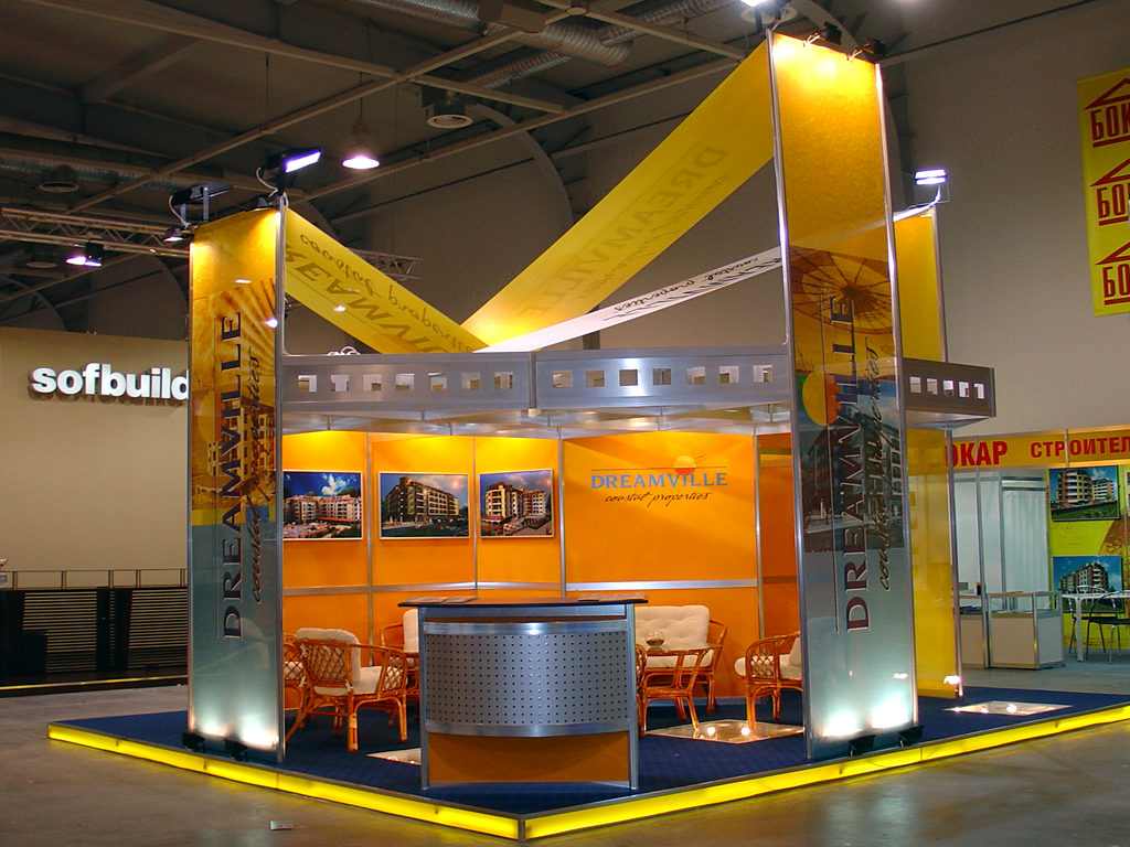 Exhibition stand Dreamvile