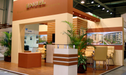 Exhibition stand Engel