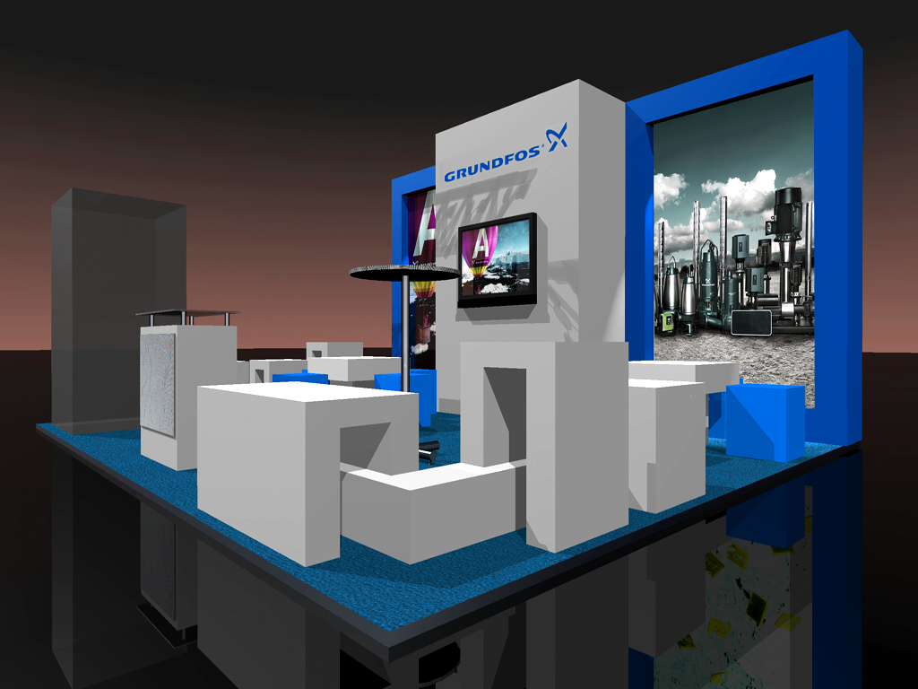 Expo Exhibition Stands Up : Stand grundfos exhibition stands prefixbg