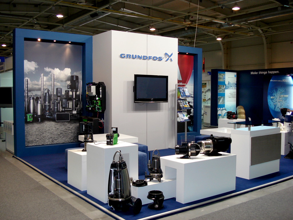 Stands In Expo : Stand grundfos exhibition stands prefixbg