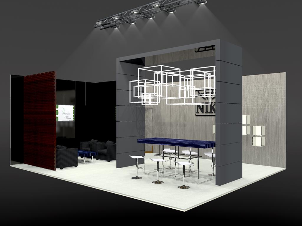 Niki stand Euro Shop Dusseldorf 3D