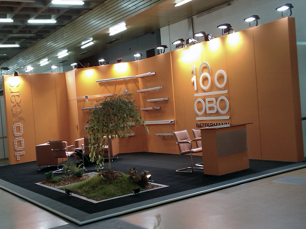 stand obo bettermann exhibition stands. Black Bedroom Furniture Sets. Home Design Ideas
