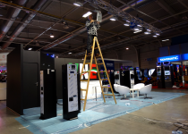 installation stand Bege expo